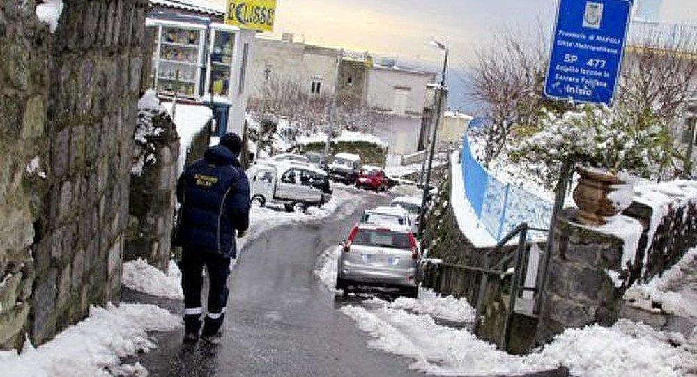 L'Italie dans l'attente du froid et des chutes de neige