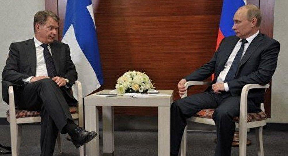 Poutine et Niinistö discuteront de la coopération économique