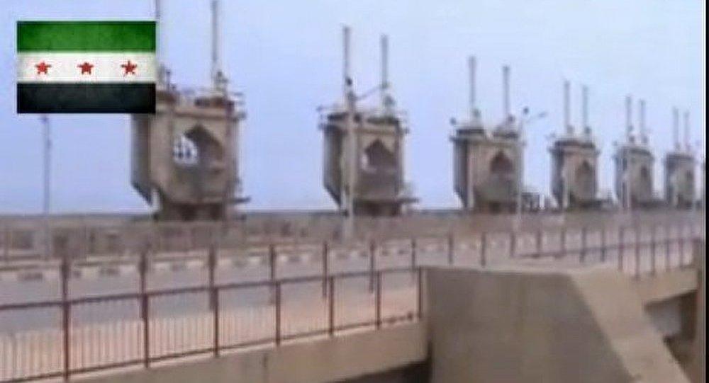 Les rebelles syriens contrôlent la plus grande centrale hydraulique du pays (vidéo)