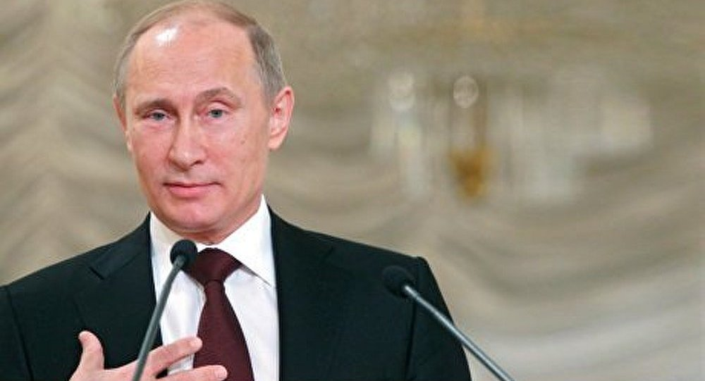 Vladimir Poutine en Finlande en été