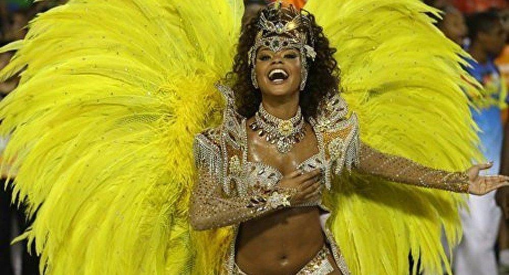 Le carnaval de Rio se termine au Brésil