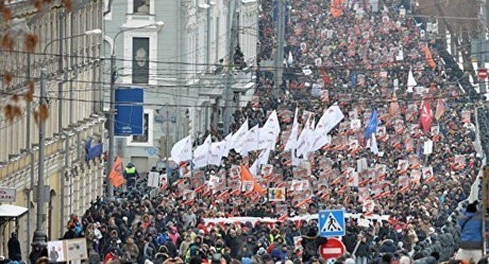 Russie : 5.000 personnes arrêtées en 2012 pour avoir participé à des manifestations