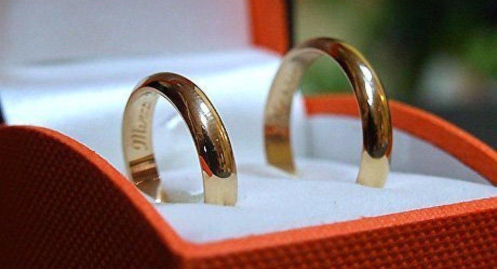 Un mariage a été célébré au palais de glace du « Village de neige »