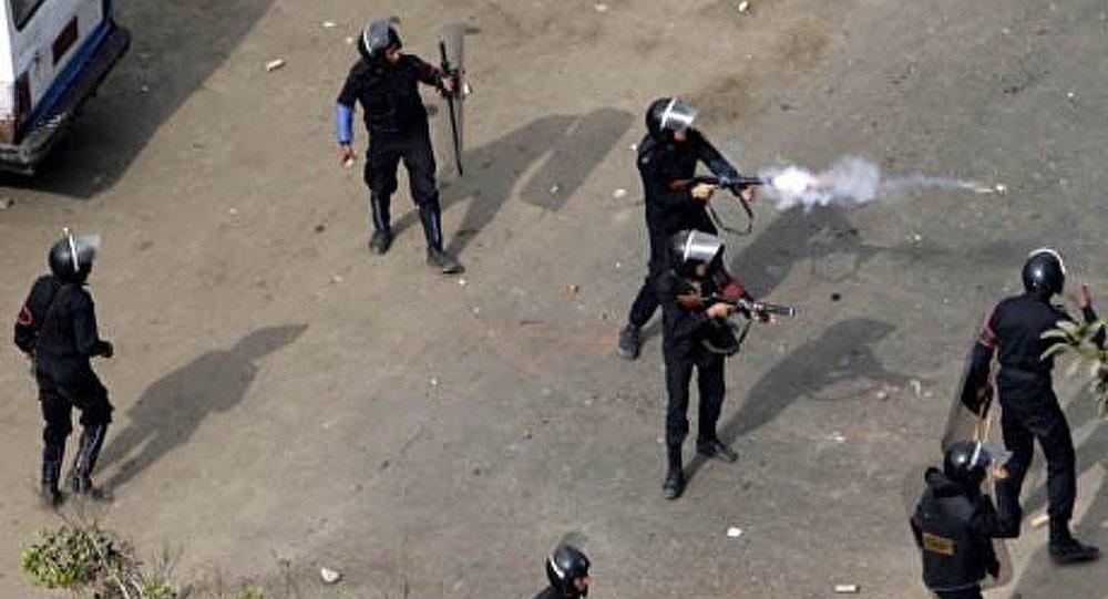 L'Égypte dépense des millions de dollars en gaz lacrymogènes
