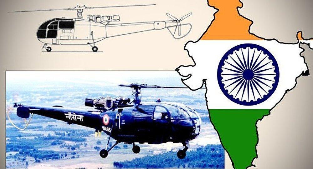 Un hélicoptère s'écrase en Inde