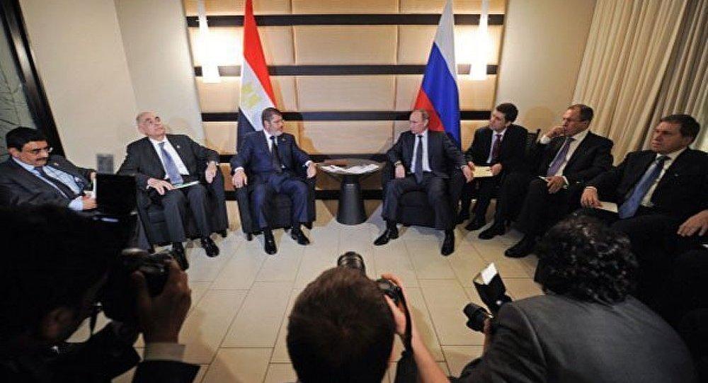Morsi : l'Egypte est intéressée par le gaz russe