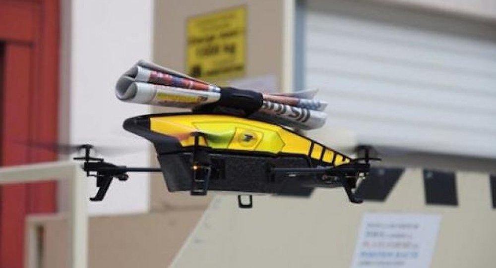 drone avec camera thermique