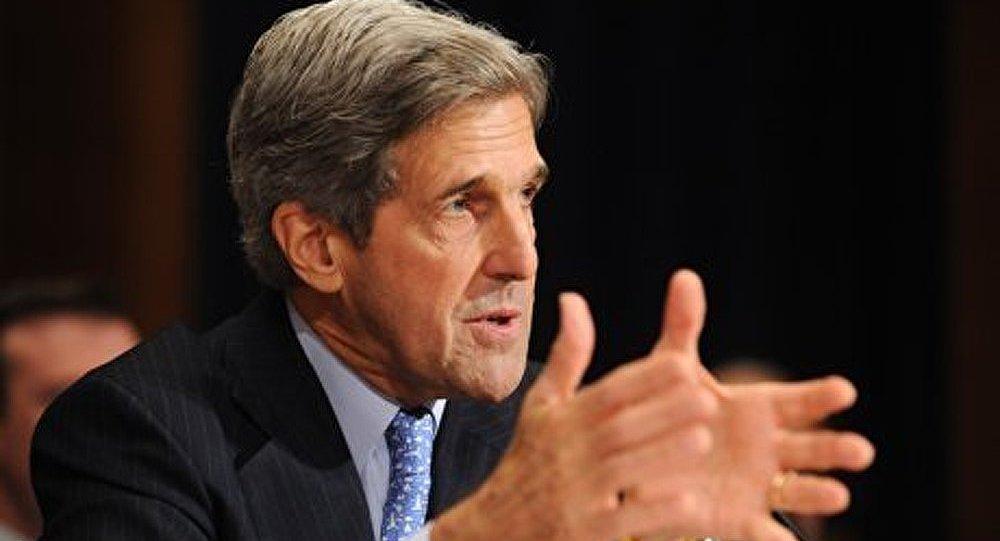 John Kerry arrive en Turquie