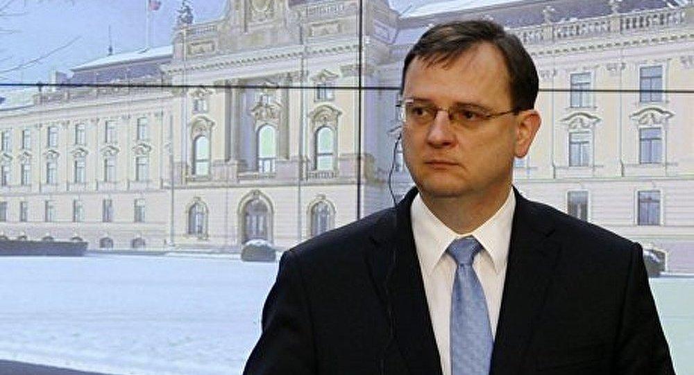 Le premier ministre tchèque se rend en Russie