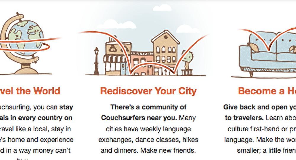 Couchsurfing : le tourisme avec une touche humaine