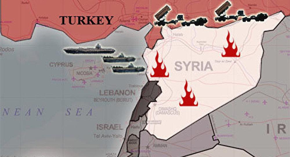 Les soldats turcs ont ouvert le feu sur le territoire de la Syrie