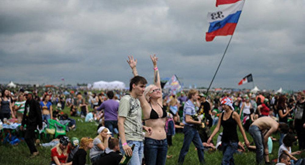 Presque 700 000 personnes ont visité le festival Rock sur la Volga