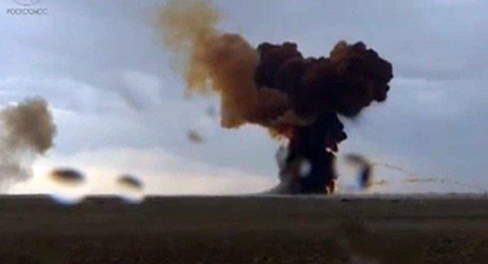 Un lanceur lourd russe Proton-M explose (vidéo)