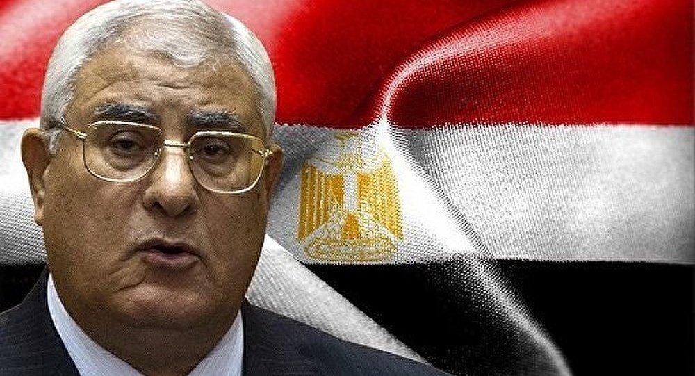 Mansour a dissout la Chambre haute du Parlement égyptien