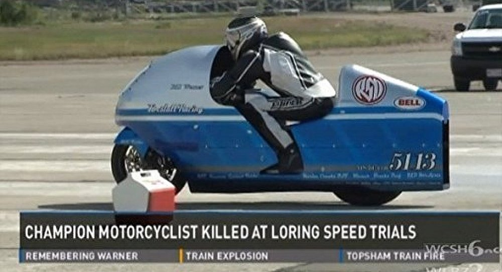 Un coureur moto américain meurt lors d'une tentative de record de vitesse