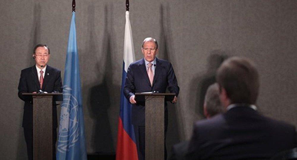 Lavrov et Ban Ki-Moon préoccupés par l'impact de la situation en Egypte sur la région