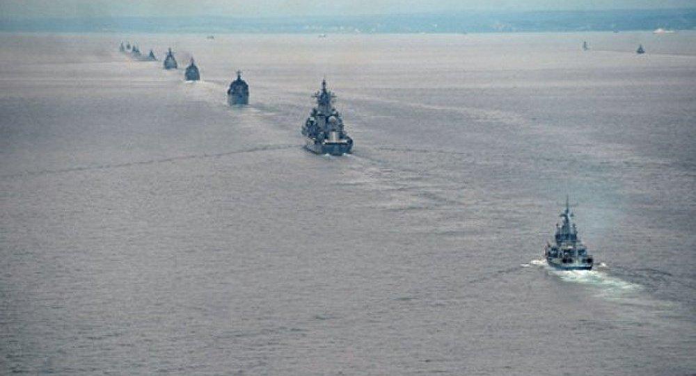 Plus de 30 navires participent aux exercices de la Flotte du Pacifique