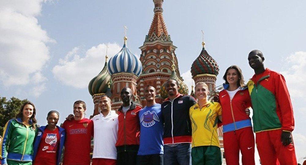Moscou est prêt pour les Mondiaux d'athlétisme