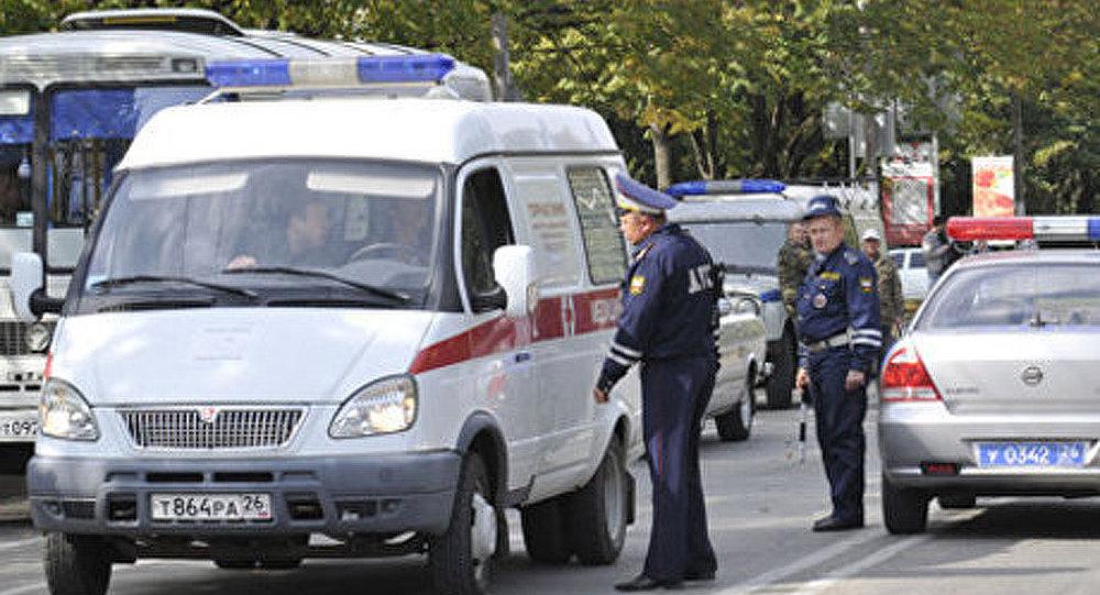 Russie : renversement de wagons de TNT