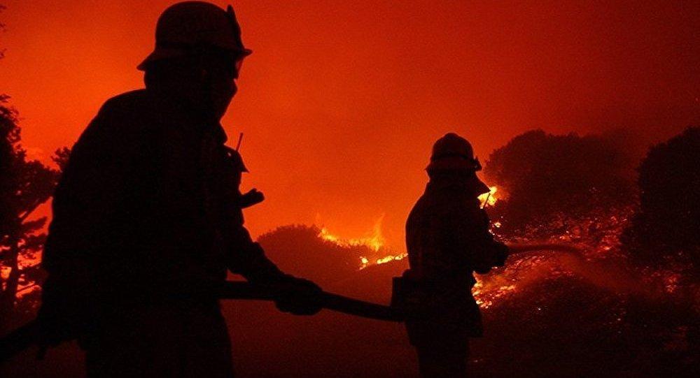 Plus de 50 incendies ravagent l'ouest des Etats-Unis