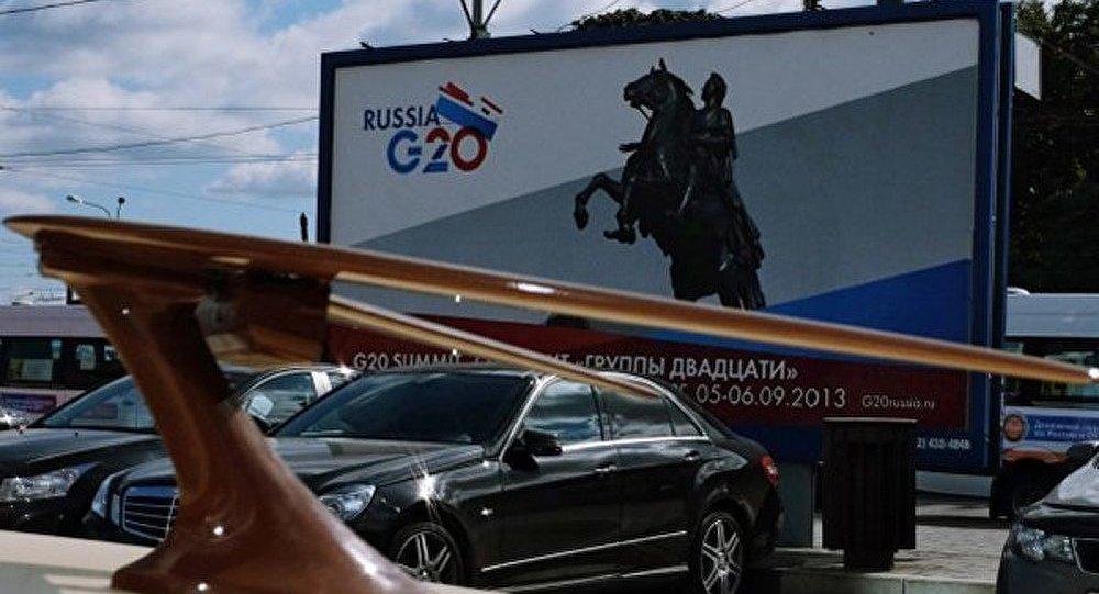 Le G20 à Saint-Pétersbourg se concentrera sur l'économie