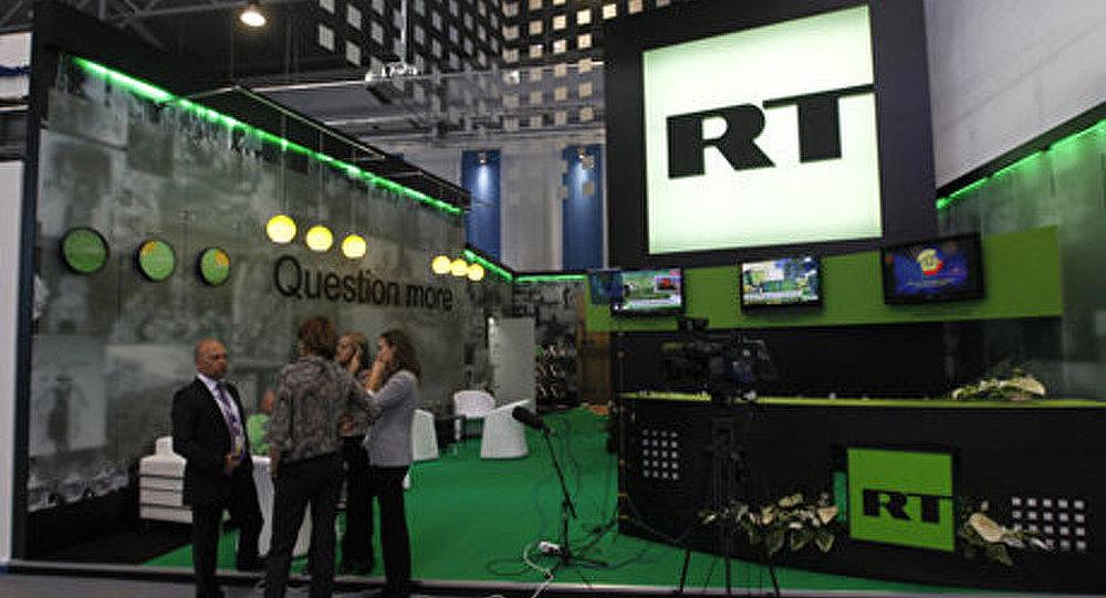 Les Etats-Unis ont bloqué la chaîne Russia Today
