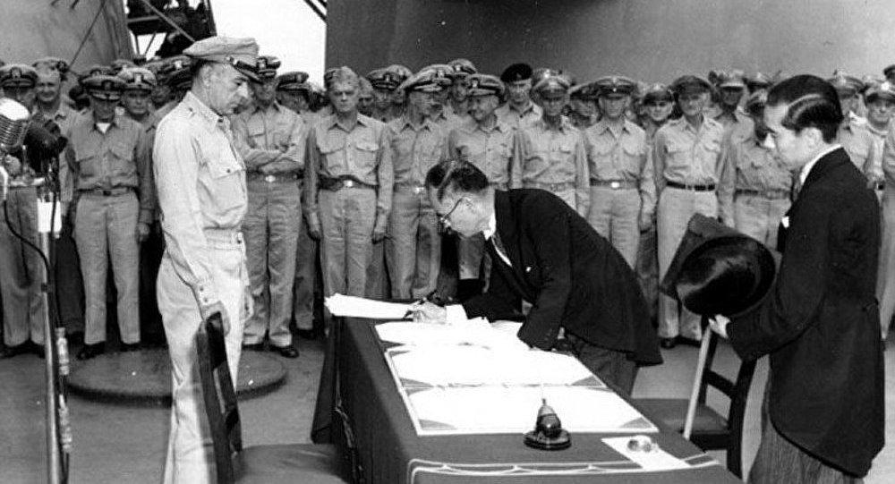 Il y a 68 ans, fin de la Seconde Guerre mondiale à bord de l'USS Missouri