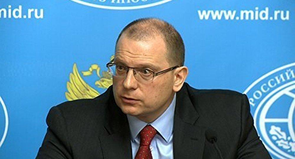 Une note de protestation transmise à un représentant de l'ambassade américaine à Moscou