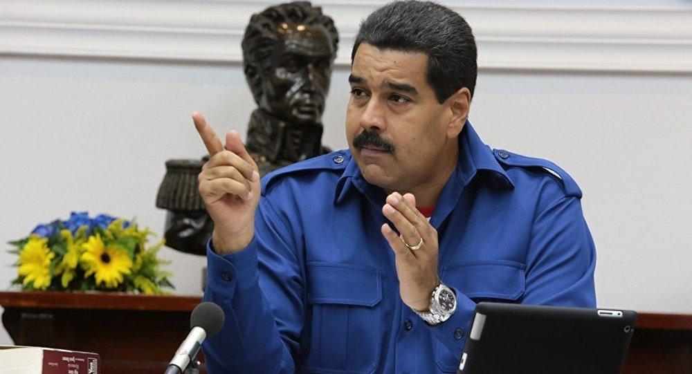 Le président du Venezuela redoute une ample provocaton en octobre