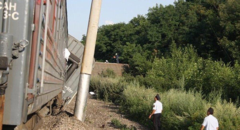 11 wagons transportant du charbon se sont renversés en Transbaïkalie