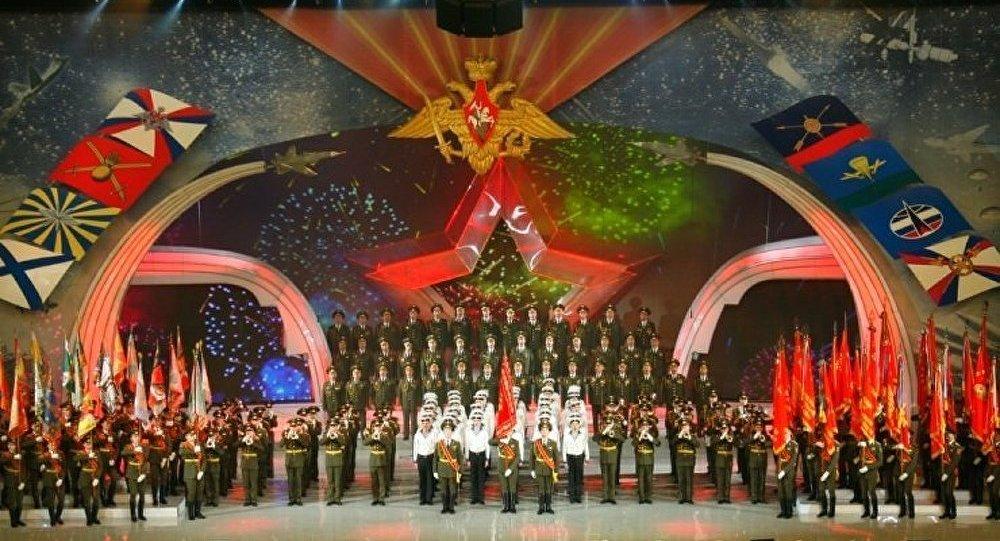 85ème anniversaire du Chœur de l'Armée Rouge