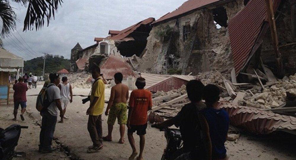 Le tremblement terre aux Philippines est le plus puissant des 23 dernières années