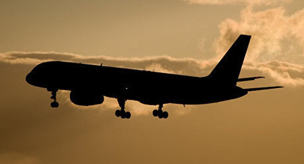 Atterrissage d'urgence d'un Boeing 757