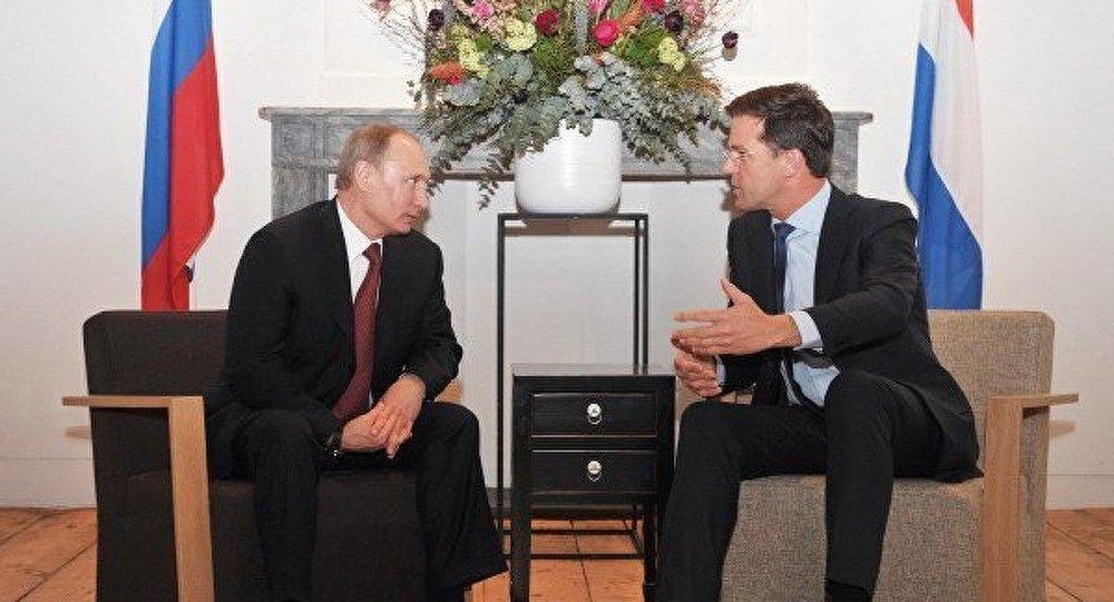 Entretien Poutine-Rutte sur la situation de la mission diplomatique russe à La Haye
