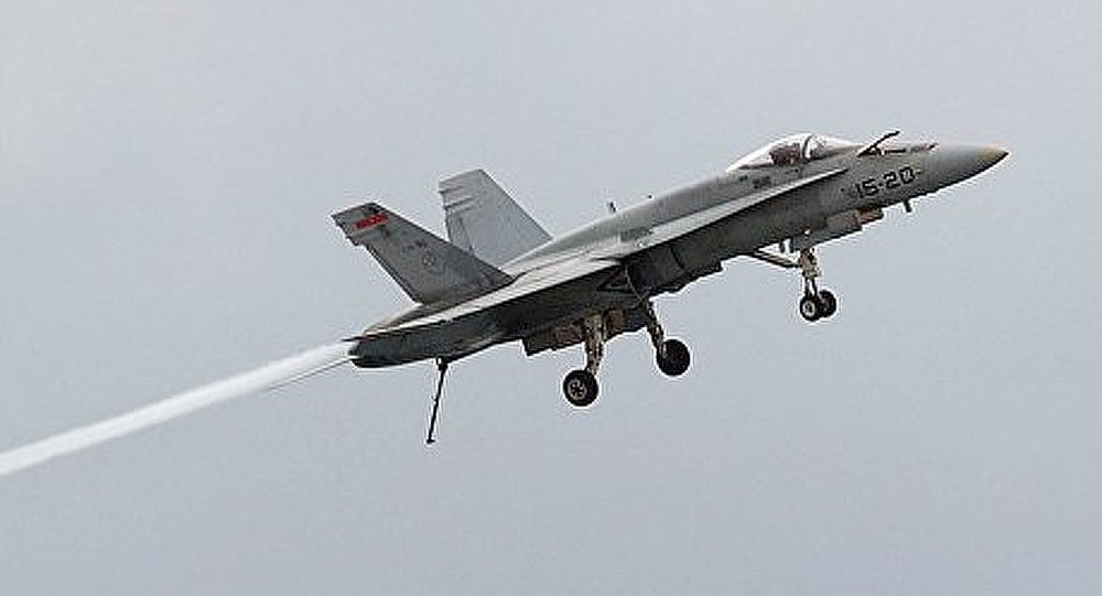 Un chasseur F-18 s'écrase en Suisse