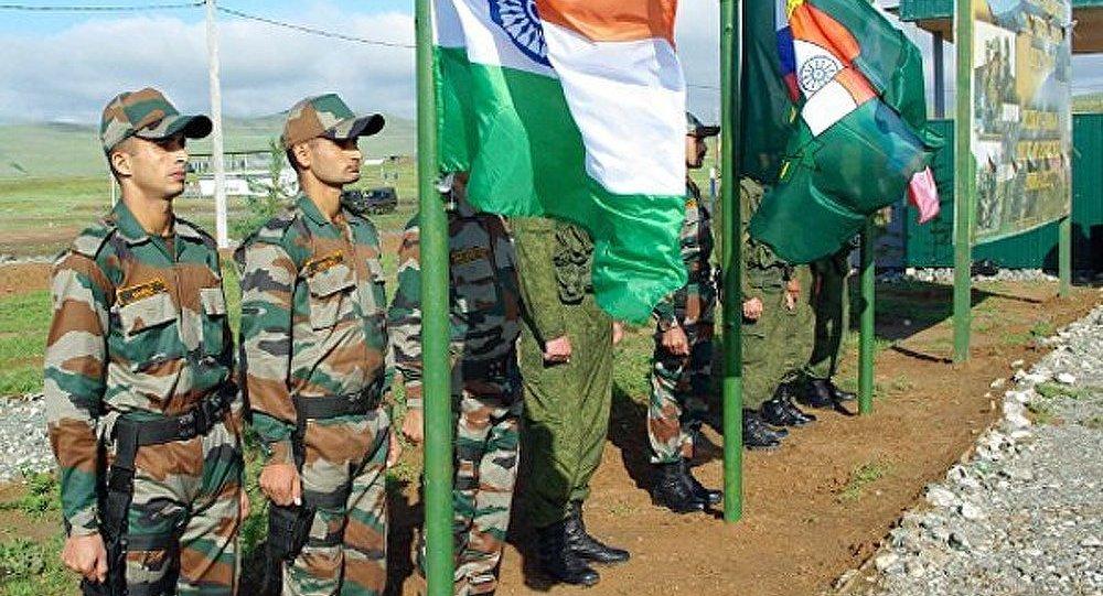 Les manœuvres communes Indra 2013 entre la Russie et l'Inde ont eu lieu