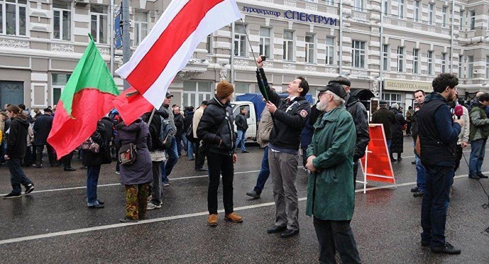 Marche de l'opposition : les participants se rassemblent dans le centre de Moscou