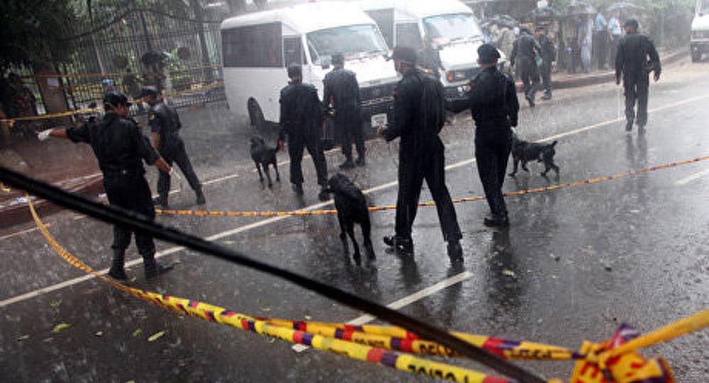 Une série de cinq explosions tonnées lors d'un rassemblement de l'opposition en Inde