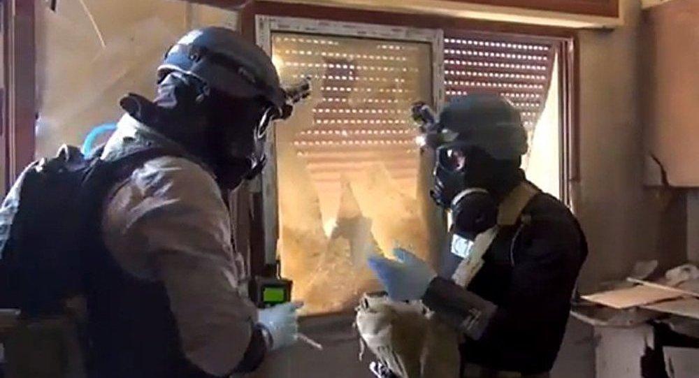 Damas a donné aux experts un plan pour la destruction des armes chimiques