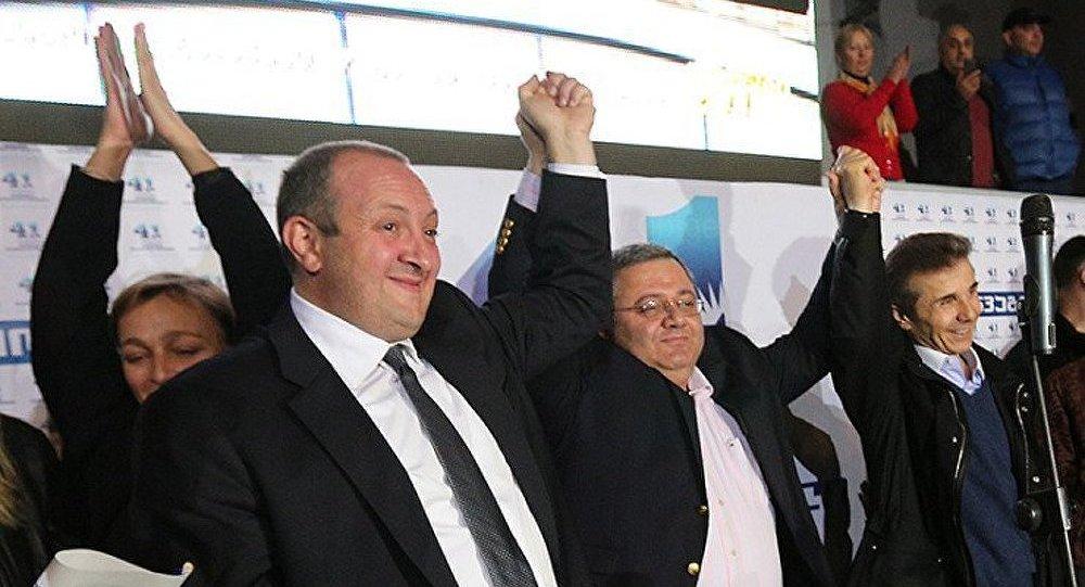 Guiorgui Margvelachvili remporte la présidentielle en Géorgie