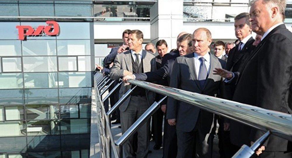 Sotchi 2014 : une nouvelle gare prête à accueillir les invités des JO