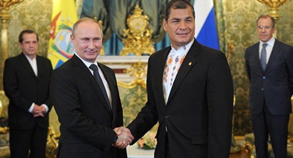 La Russie et l'Equateur poursuivront la lutte contre le financement du terrorisme (Poutine)