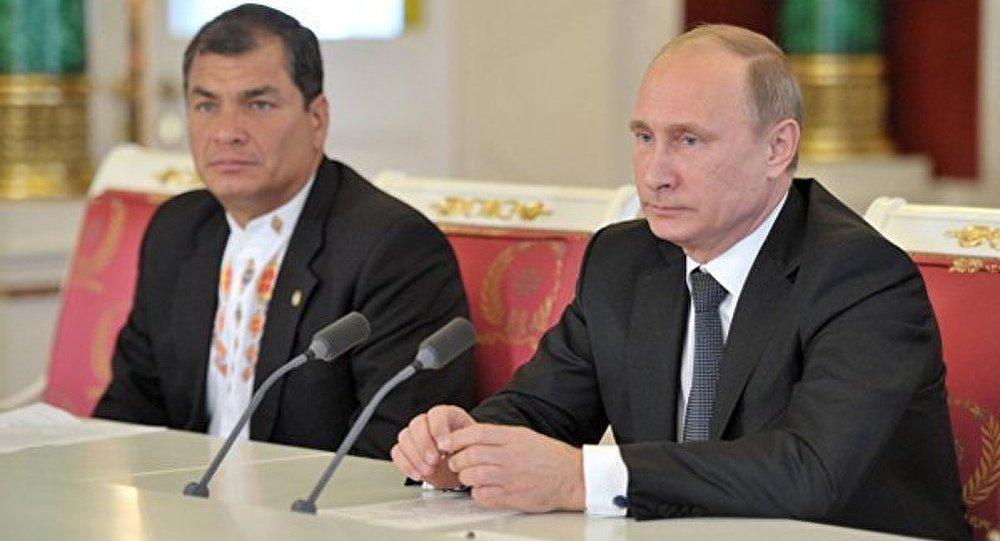 Le président de l'Equateur veut s'orienter sur Poutine