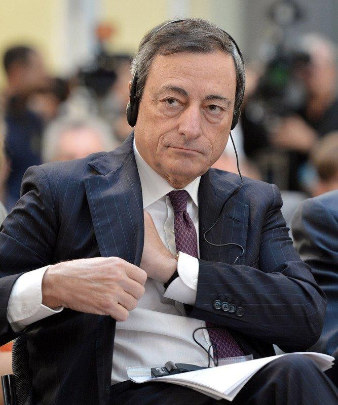 Mario Draghi, le président de la Banque centrale européenne, occupe la neuvième place du classement des personnes les plus influentes du monde pour le magazine Forbes.