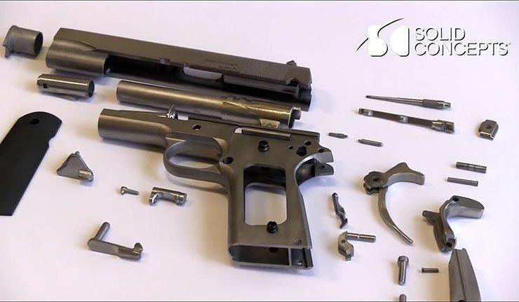 Les armes sorties des imprimantes 3d avantages et for Piece en 3d gratuit