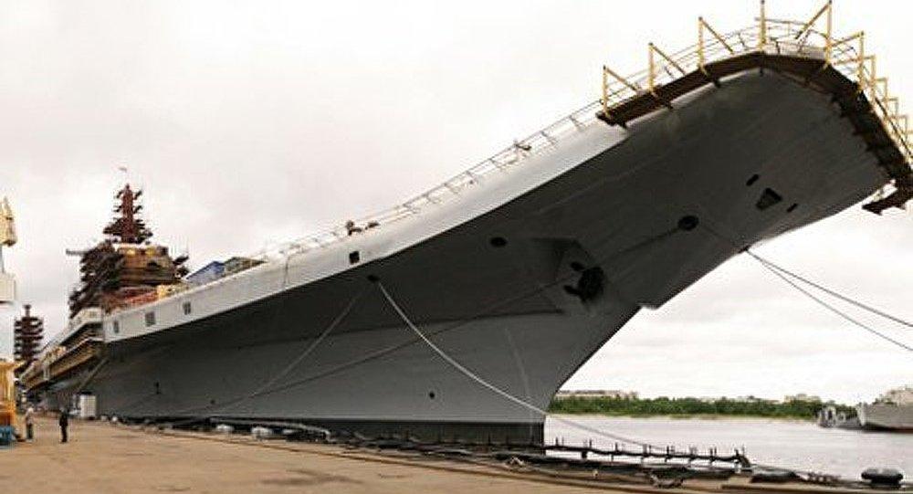 Le porte-avions russe sera transmis à l'Inde le 16 novembre