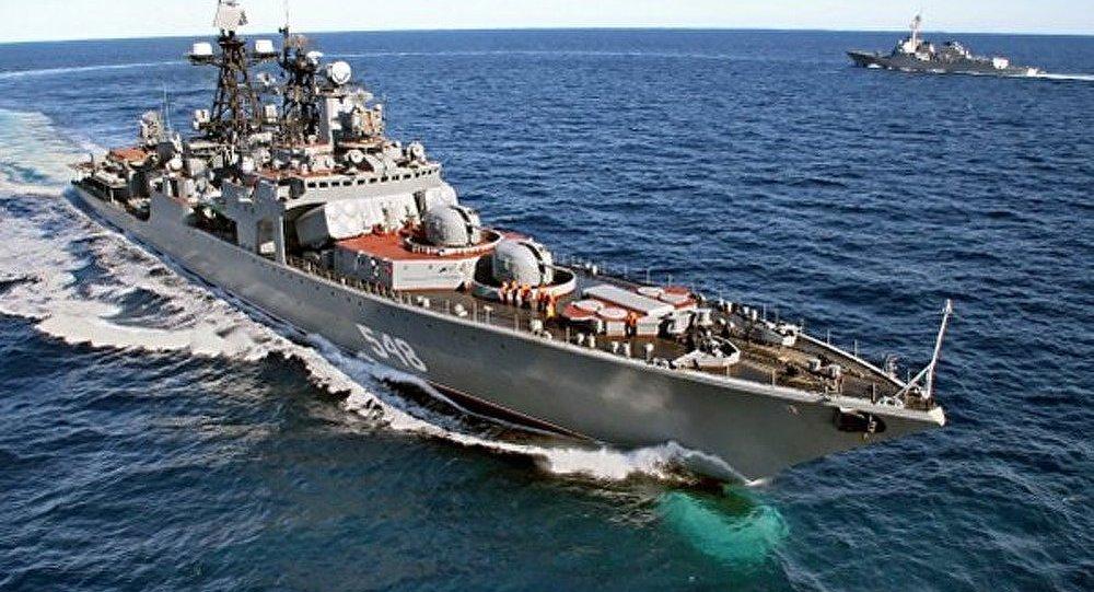 5 navires russes jettent l'ancre dans les ports de l'Asie et de l'Afrique