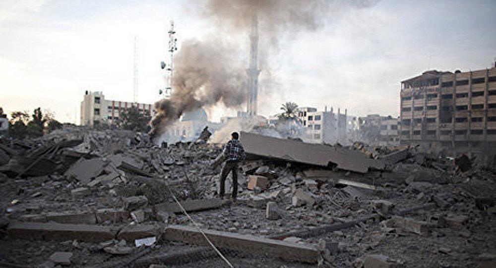 L'armée de l'air israélienne a porté des attaques contre la bande de Gaza