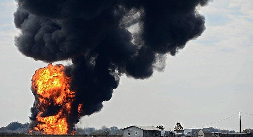 Une puissante explosion vient de se produire sur un gazoduc au Texas