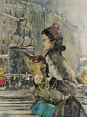 L'hiver à Moscou, Fin des années 1950
